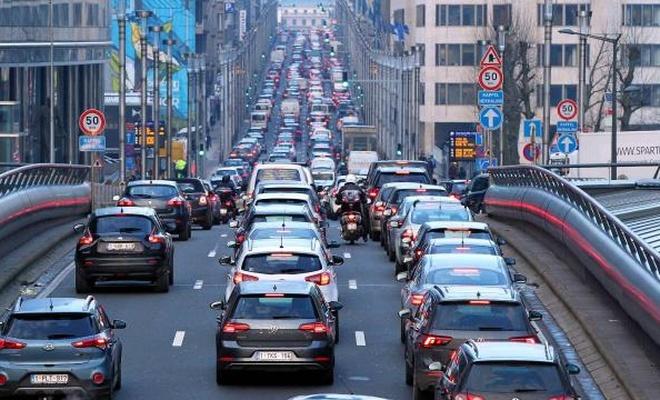 Belçika'daki 600 bin araç başkente giremeyecek