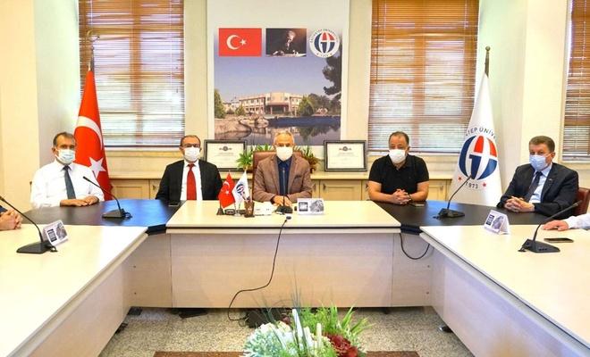 """Gaziantep Üniversitesinde açılan """"Halı Tasarım Bölümü"""" tanıtıldı"""