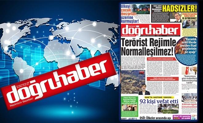 TERÖRİST REJİMLE NORMALLEŞİLMEZ!