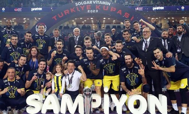 Basketbolda Türkiye Kupası sahibini buldu