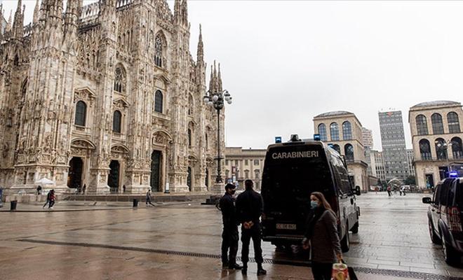 İtalya'da son 24 saatte 126 kişi Kovid-19'dan hayatını kaybetti