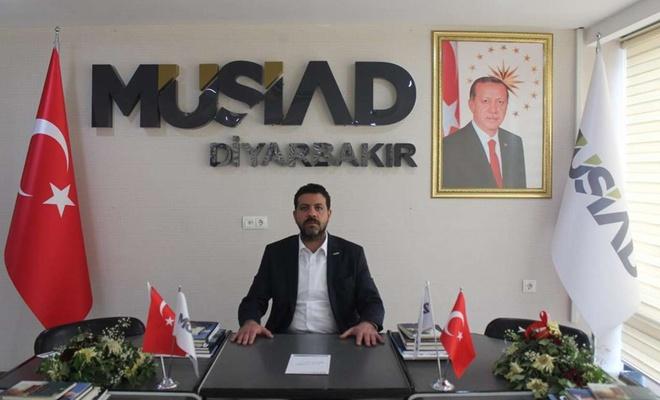 MÜSİAD Diyarbakır İl Başkanı Mehmet Bozkuş'tan Fetih mesajı