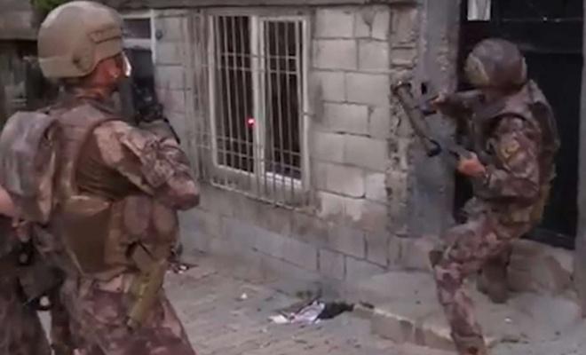 Gaziantep'te uyuşturucu operasyonu: 24 gözaltı