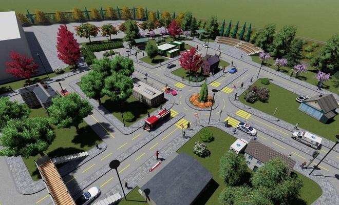 Siirt'te çocuklar için yapılacak Trafik Eğitim Parkı projesi tamamlandı