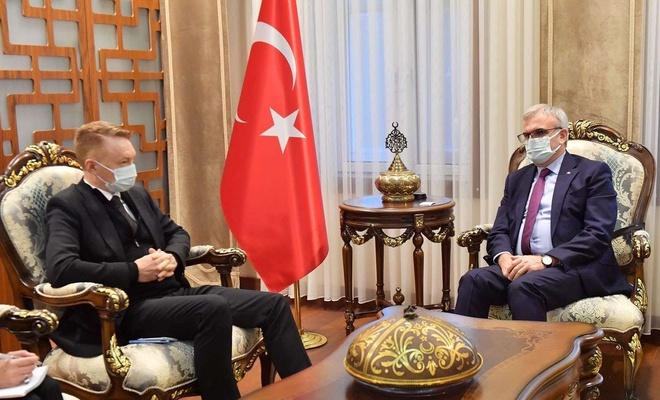 Avustralya Büyükelçisi Marc Innes – Brown Diyarbakır'da