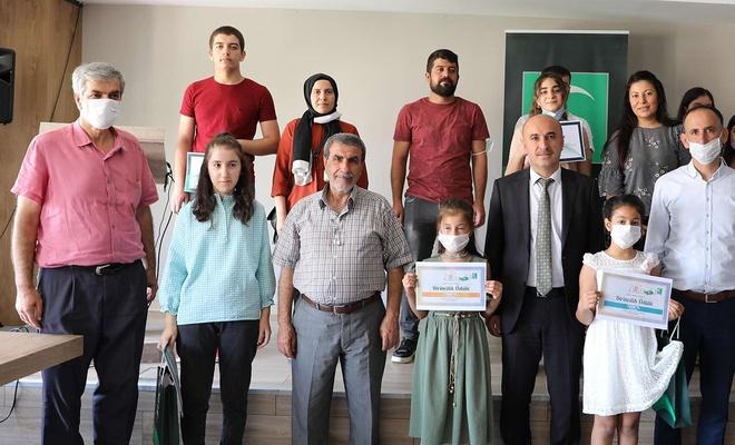 """Mardin'de """"Sağlıklı Nesil, Sağlıklı Gelecek"""" yarışmasının ödülleri sahiplerini buldu"""