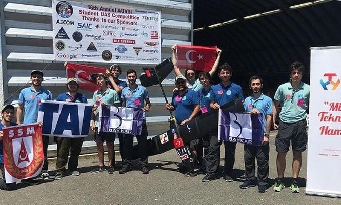 ABD`deki İHA yarışmasına Türkiye damgası