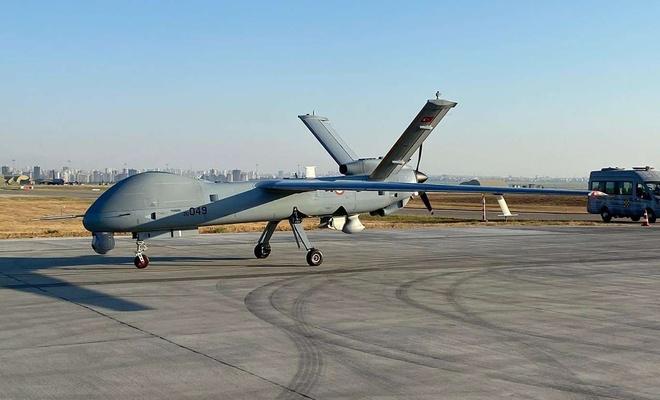 "Hava Kuvvetleri Komutanlığına 2 ""ANKA-SİHA"" verildi"