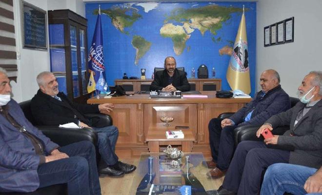 HAK-PAR Genel Başkanı Epözdemir İlke Haber Ajansı'nı ziyaret etti