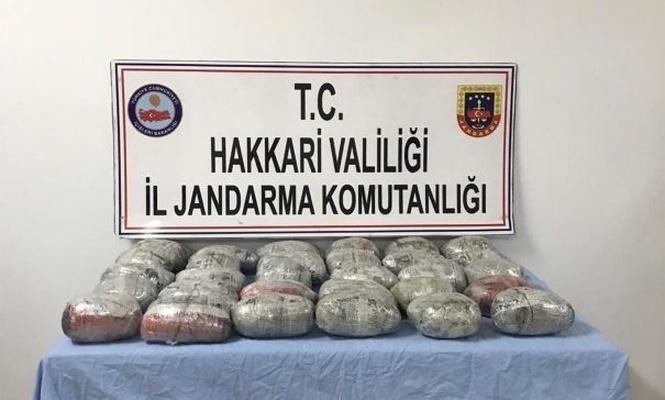 Di operasyona PKKê de 35 kîlo esrarê toz hat bidesxistin