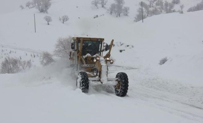 Kar nedeniyle 123 yerleşim yerine ulaşım sağlanamıyor