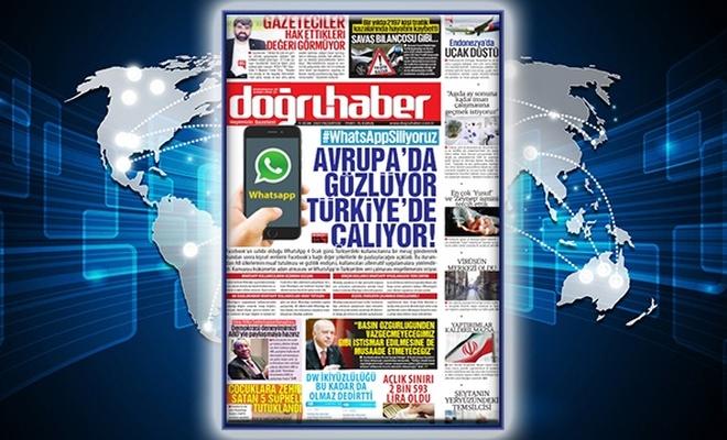 #WhatsAppSiliyoruz  AVRUPA'DA GÖZLÜYOR TÜRKİYE'DE ÇALIYOR!