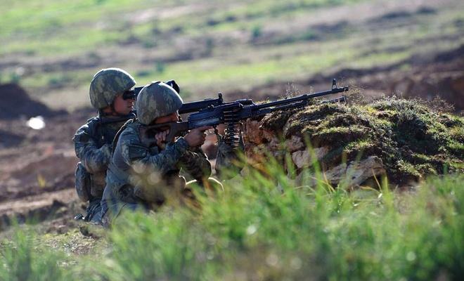 Fırat Kalkanı bölgesinde 3 PKK elemanı öldürüldü