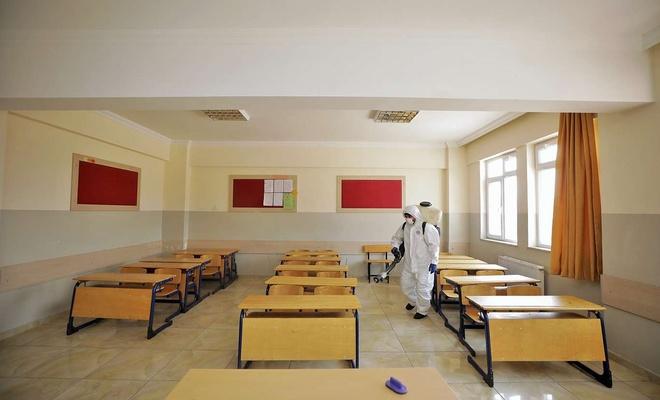 Gaziantep'te köy okulları yüz yüze eğitime hazır