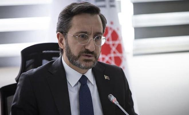 İletişim Başkanı Altun'dan OHAL iddialarına cevap