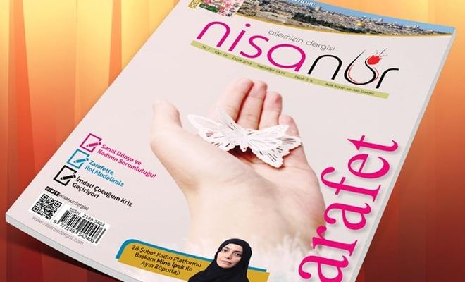 Nisanur Dergisi Ocak 2018 Sayısı Çıktı
