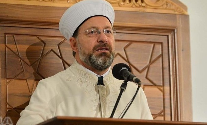 Head of Diyanet curses zionist attack that martyred a mother and baby