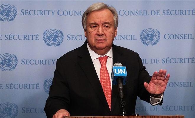 Guterres: Körfez kaldırmayacağı bir savaşla karşı karşıya