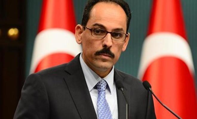 Cumhurbaşkanlığı Sözcüsü Kalın'dan, işgal rejimi ile BAE arasındaki anlaşmaya tepki