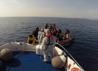 59 sığınmacı kurtarıldı