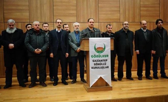 Gaziantep`teki STK`lardan basın açıklaması