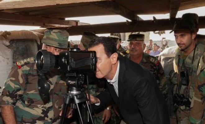 Beşar Esed'den, İdlib'e sürpriz ziyaret!
