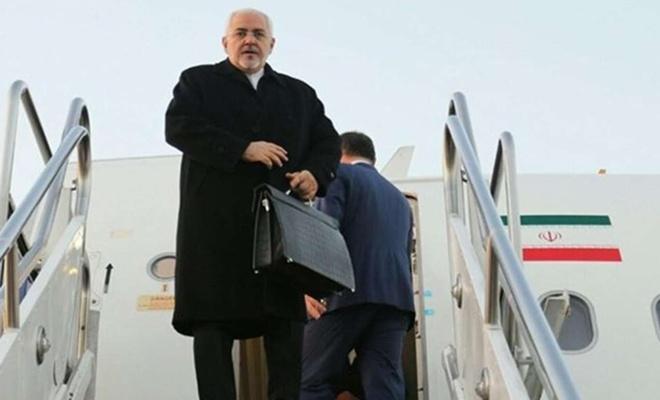 İran Dışişleri Bakanı Zarif Suriye'ye gitti