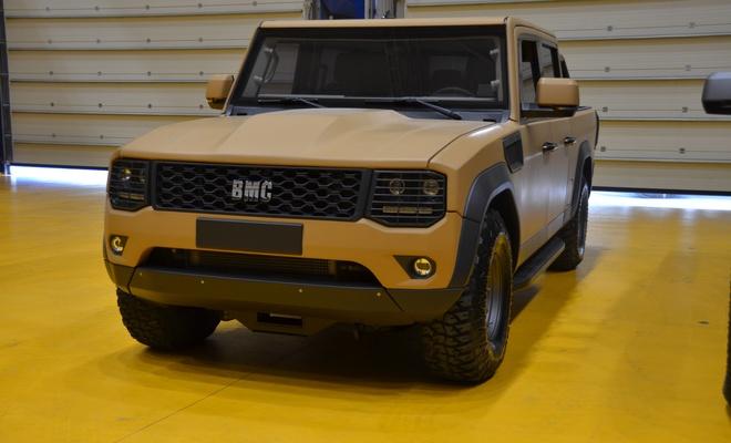 BMC'den zırhlı pikap aracı