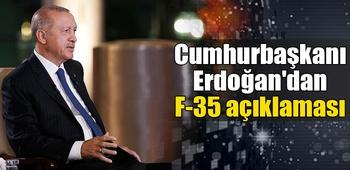 Erdoğan`dan F-35 açıklaması