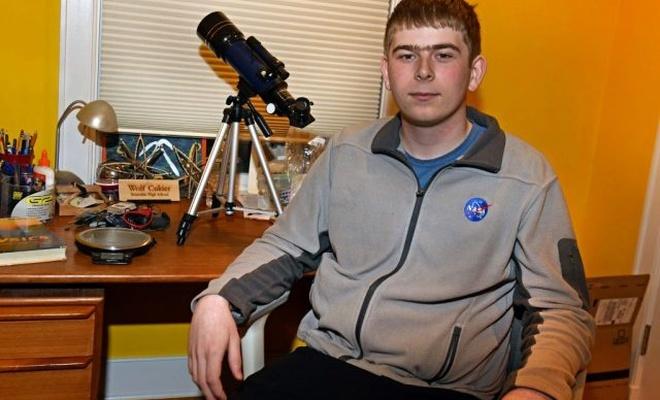 NASA'da staj yapan lise öğrencisi keşfiyle astronomi tarihine geçti