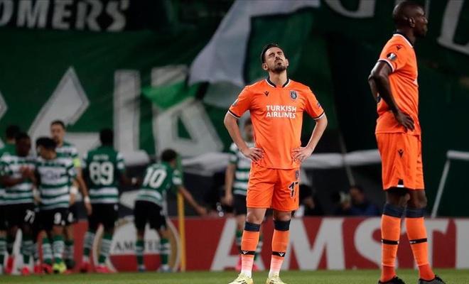 Başakşehir deplasmanda Sporting Lizbon'a yenildi