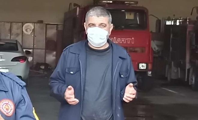 Şanlıurfa'da itfaiye eri Coronavirus'ten vefat etti