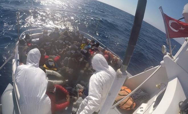 Sahil Güvenlik Komutanlığı: Çanakkale açıklarında 31 düzensiz göçmen kurtarıldı