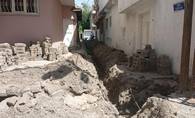 DEDAŞ'ın kazı çalışmasında insan kemikleri bulundu