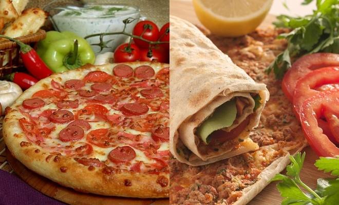 Pizza, Lahmacun, Pide... Hangisi daha fazla şişmanlatır... İşte aradaki devasa fark!