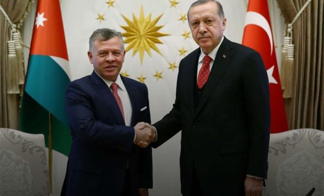 Erdoğan, King Abdullah II of Jordan talk over phone