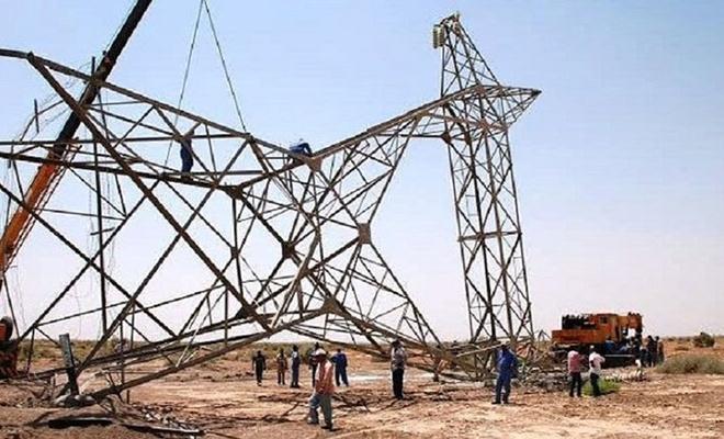 Irak'ta 14 elektrik nakil kulesi havaya uçuruldu