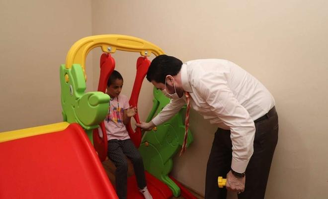 Ağrı Belediyesi, otizm hastası Beyza Nur'un çağrısına duyarsız kalmadı