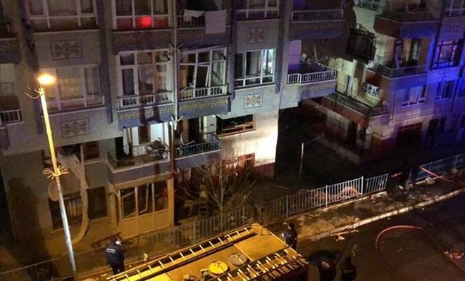Ankara Pursaklar`da doğal gaz patlaması